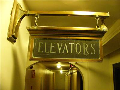 Ancient elevators and modern elevators